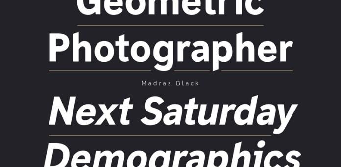 Madras Font Family