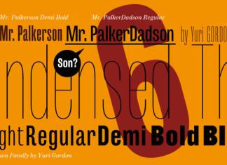 mr-palker-dadson-font-family