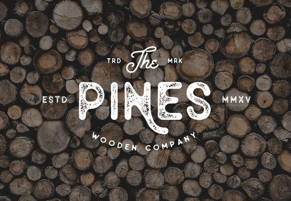 Old Pines Vintage Type - 3 Styles