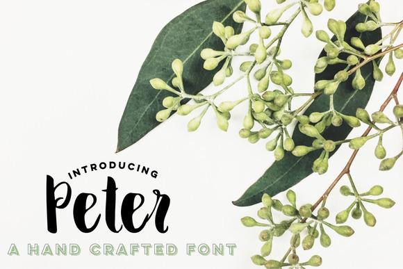 Peter Script Font