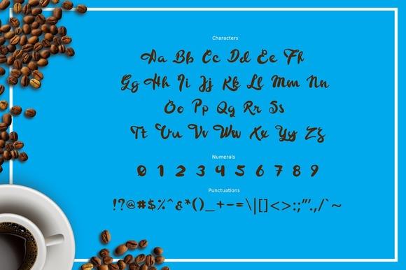 BLURE Script Font