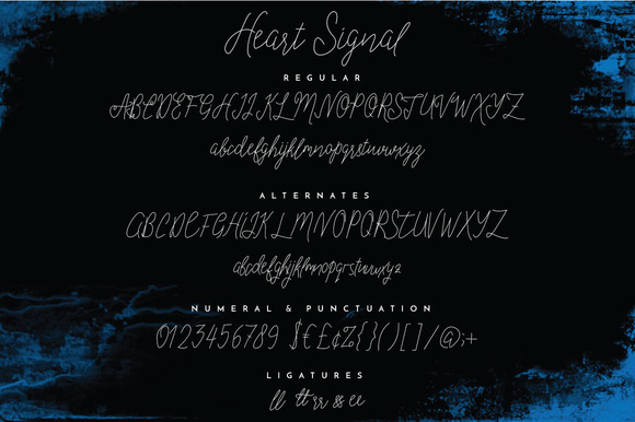 Heart Signal Typeface