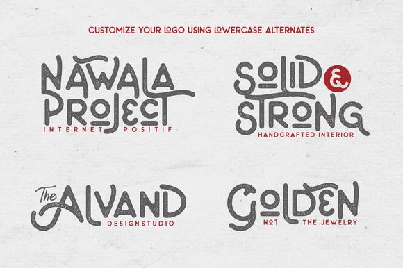 The Artland Typeface + Extras