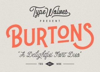 Burtons Display Font