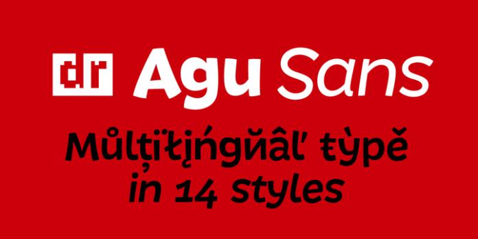 DR Agu Sans Font Family