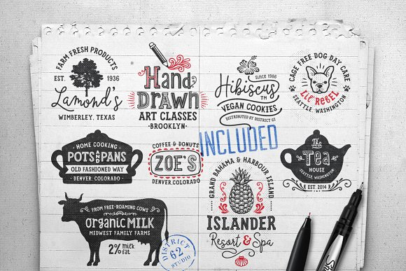 Lil' Rebel Font Collection