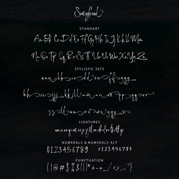 Siegfried Script Font