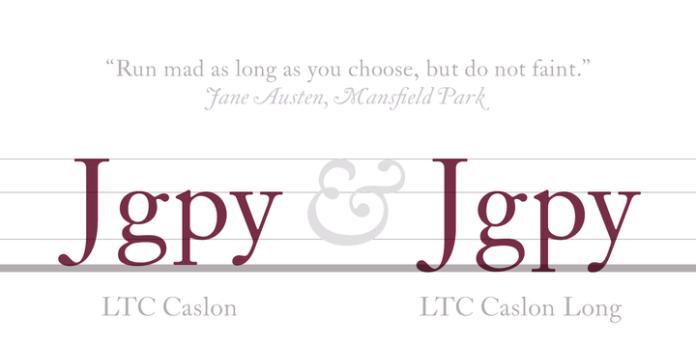 LTC Caslon Font Family