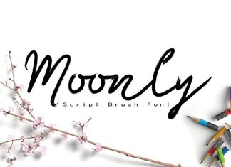Moonly Typeface
