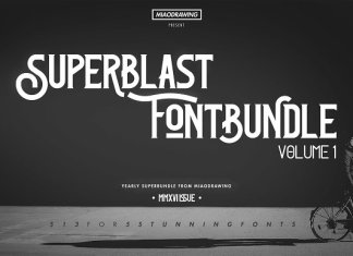 Superblast Fontbundle Vol. 1