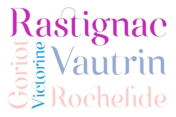 Victorine Serif Font