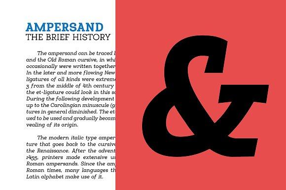 Egalite Slab Serif Font