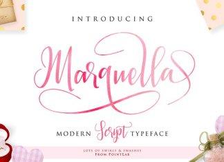 Marquella Script Font