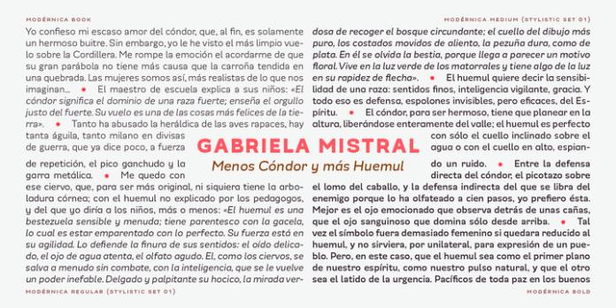Modernica Font Family
