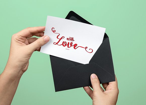 With love Handwritten Font