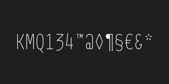 64-SRC Font Family