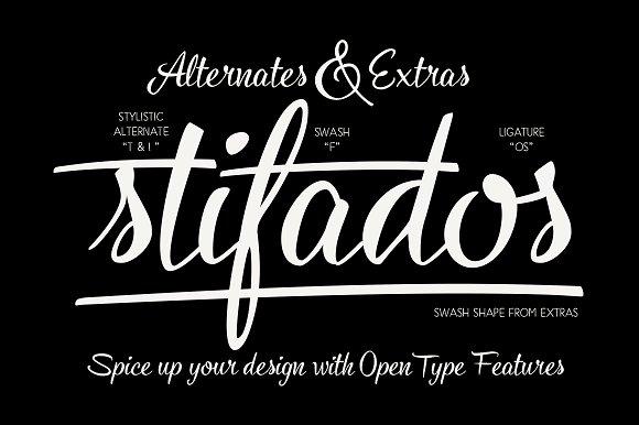 Cold Brew font trio +extras