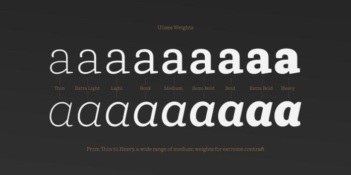 Ulises Font Family