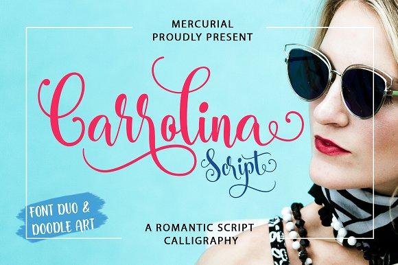 Carrolina Script Font