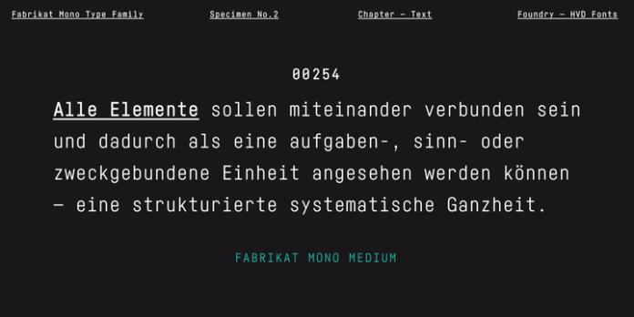 Fabrikat Mono Font Family