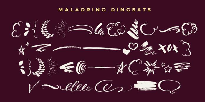 Malandrino Font Family
