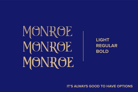 Monroe Font Family NEW