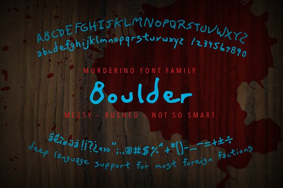 Murderino: Three Killer Typefaces