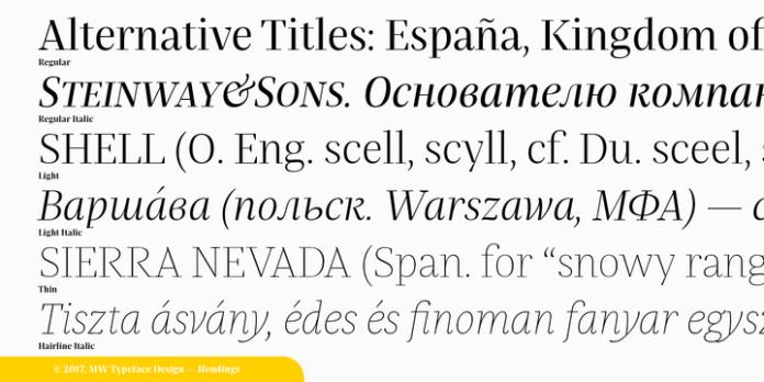 Praho Pro Font Family