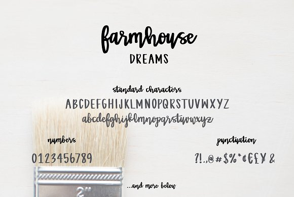 Farmhouse Dreams Script Ifonts Xyz
