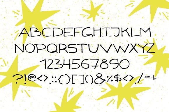 Gizmo - uppercase marker font