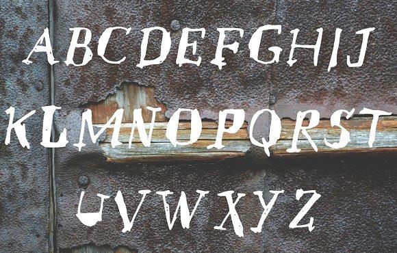 SCRATCH a handwritten font