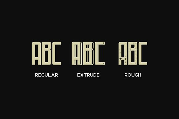 Fontaine Typeface