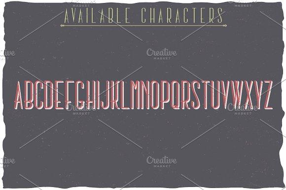 New York Label Typeface