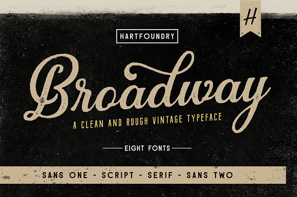 Download Broadway | Font Pack - iFonts.xyz