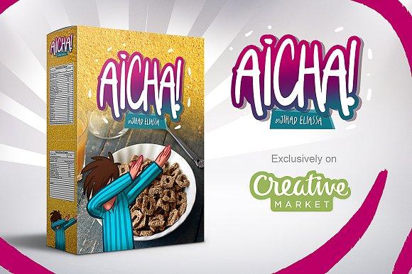 Aicha font by Eliassa Jihad