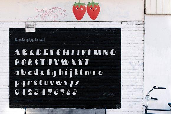 Fatso typeface