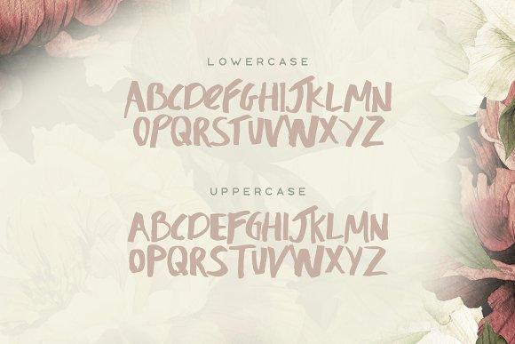 Honeysuckle Typeface
