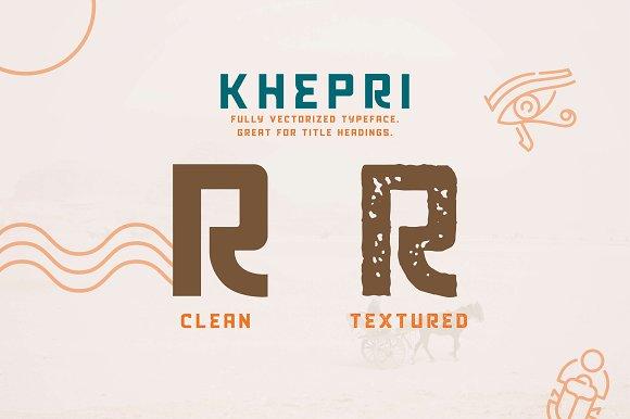 Khepri Sans Serif