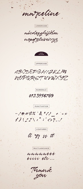 Marceline Script Font
