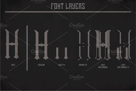 Norwich Vintage Label Typeface