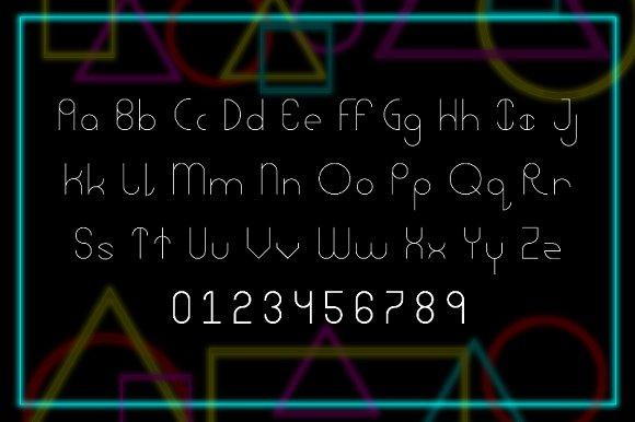 Abstracular Typeface
