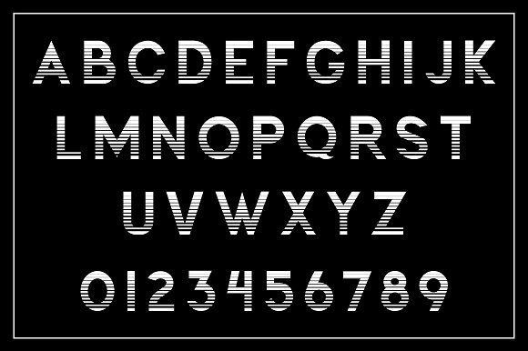 Champion Typeface