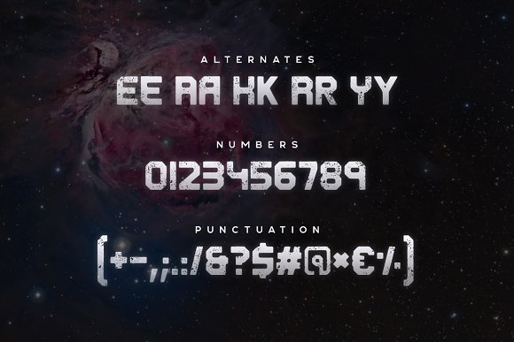 Derelict Typeface