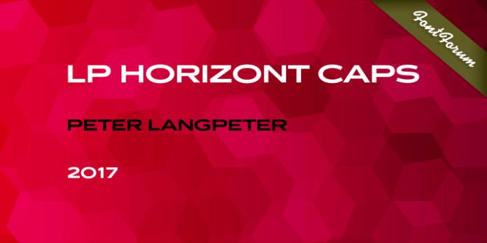 LP Horizont Caps Font