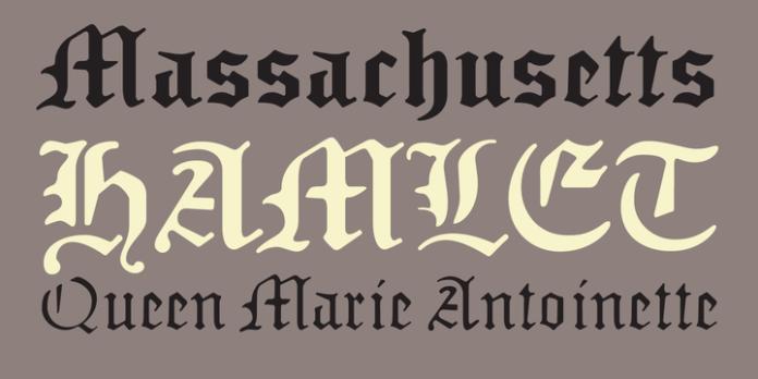 Sabbath Black Font Family