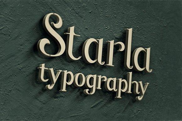 Starla - Display Font