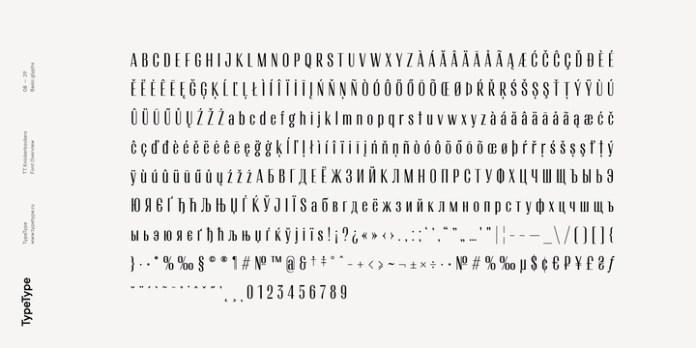 TT Knickerbockers Font Family