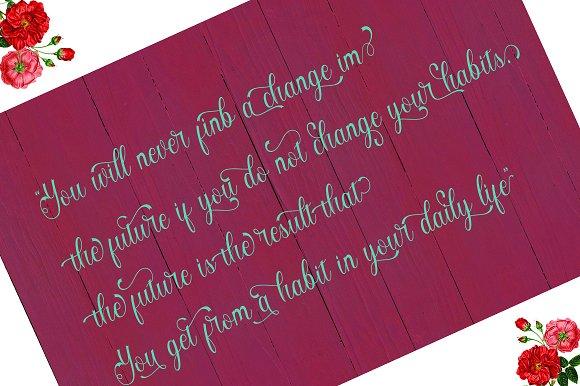 Angelisa Script Font