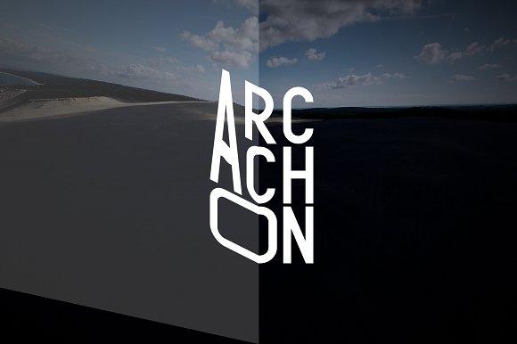 Arcachon Typeface