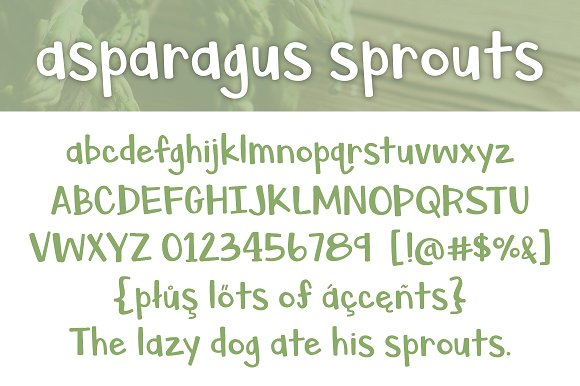 Asparagus Sprouts